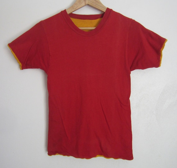 Vintage Reversible T Shirt circa the 50's - image 5