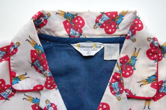 Vintage Two Piece Pajamas circa the 60's