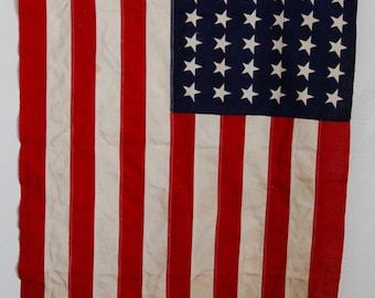 Vintage 48 Star Flag circa the 20's