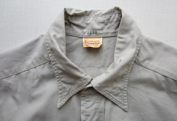 Vintage Cameron Work Shirt circa the 50's