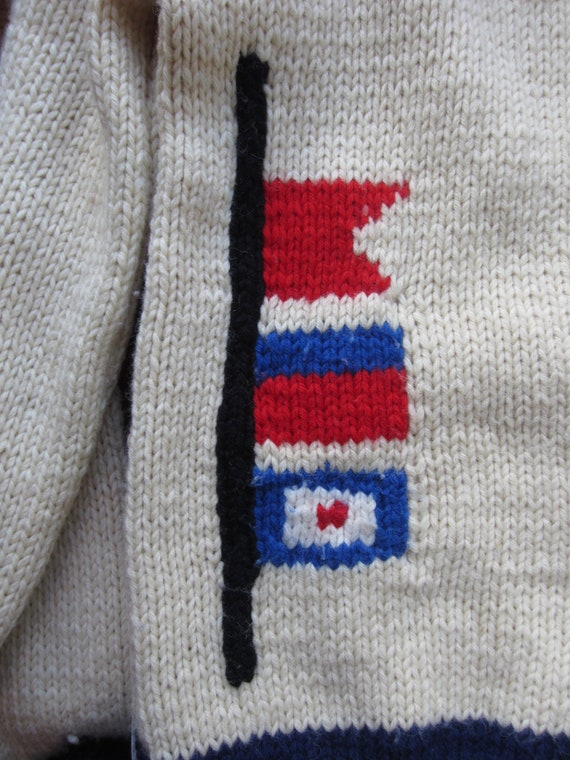Vintage Nautical Sweater circa the 50's