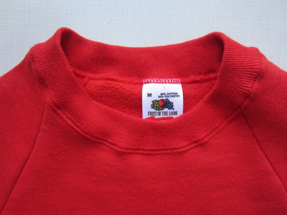 Vintage Fruit of the Loom Sweat Shirt circa the 80