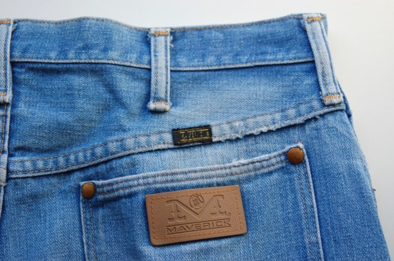 Vintage Maverick Blue Bell Jeans circa the 60's