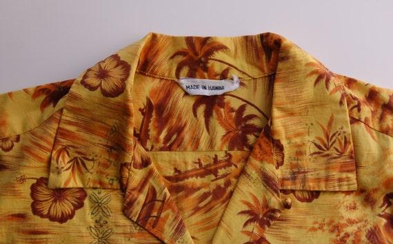Vintage Hawaiian Shirt circa the 50's