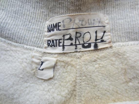 Vintage U S Navy Issue Sweat Pants circa the 40's