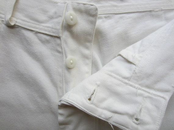 Vintage U S Navy Sailor Trousers circa the 40's