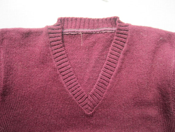Vintage V Neck Sweater circa the 40's