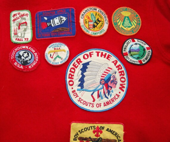 Vintage Boy Scout Wool Jacket circa the 60's