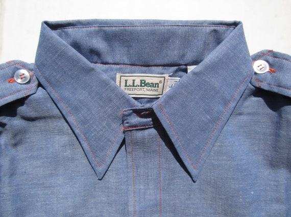 Vintage L L Bean Shirt circa the 70's