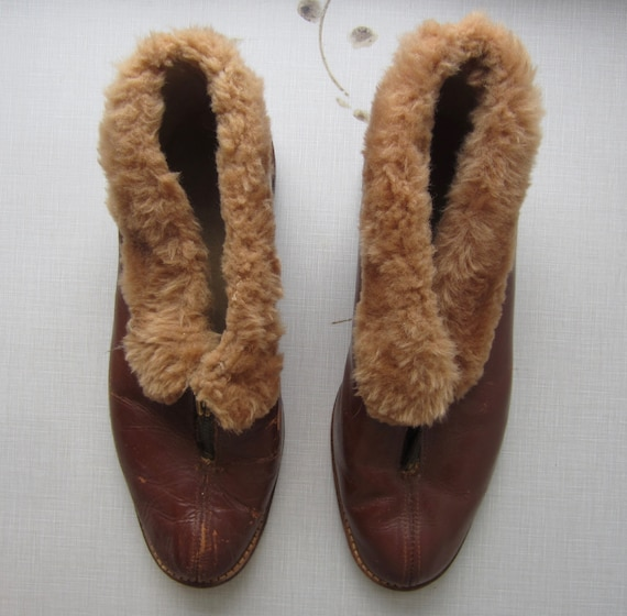 Vintage Slippers circa the 50's