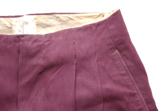 Vintage Hidden Belt Trousers circa the 40's