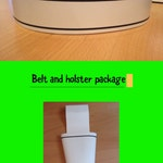 MMPR belt and holster package (Must provide your measurement)