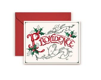 Providence RI Holiday Card
