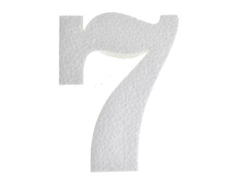 "4-3//4-Inch 12-Count Craft Styrofoam Letter Cut Out /""S/"""