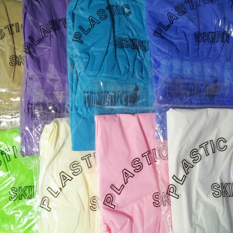 3fdb9ee2b Plastic Table Skirt Adhesive Pleated 29-inch x 14-feet | Etsy