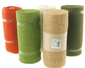 Burlap Roll Natural Fabric, 9-Inch, 10 Yards