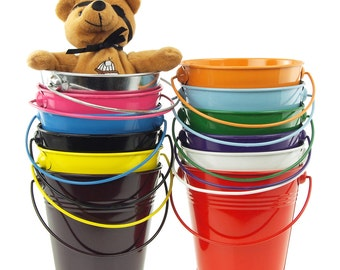 Metal Pail Bucket Party Favor, 5-Inch