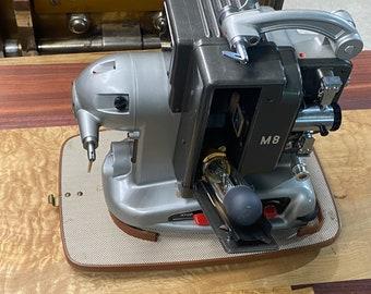 Bolex Naillard 8mm film projector 1960's made in Switzerland mint