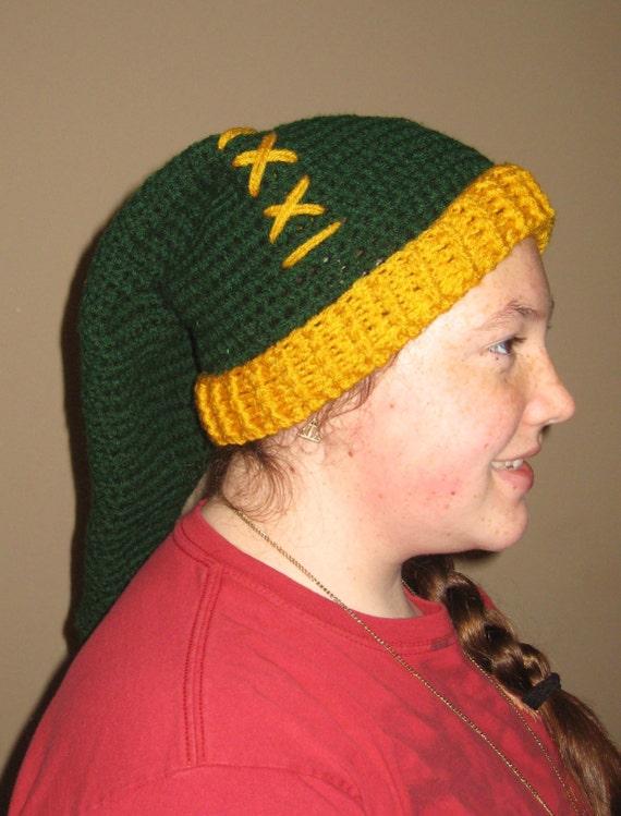 4403288f53b Crochet PATTERN   Legend of Zelda inspired Winter Hat adult size (Instant  Download PDF file)