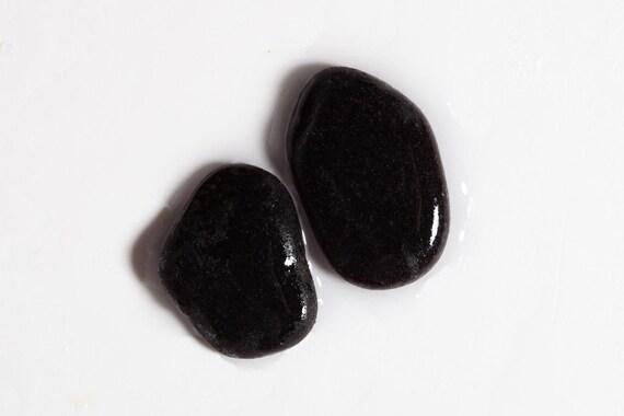 Deep Purple Rare italien véritable bijoux Sea qualité Sea bijoux verre / 2 pièces (sg-0002-10) 32b488