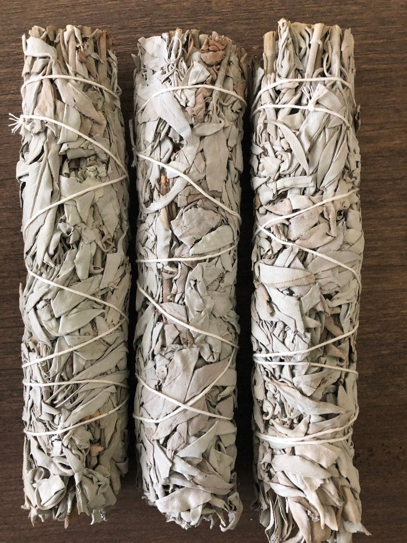 White Sage and Crystal smudge kit Cleansing