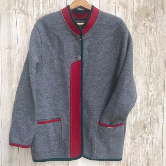 Vintage Geiger German Traditional Trachten Jacket