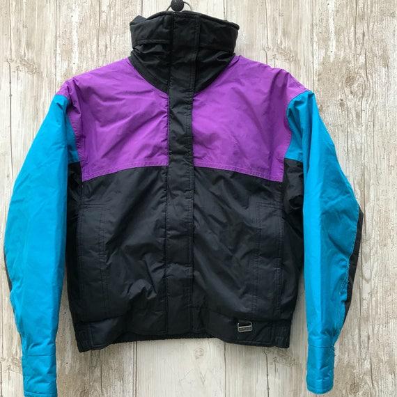 Vintage White Stag Size 8 Ladies Ski Bomber Jacket