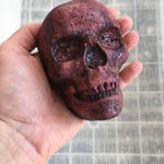 Skull Bath Bomb with Biodegradable Glitter. The Seer. Mystical. Essential Oils. Organic Ingredients . Vegan. Made in Utah.