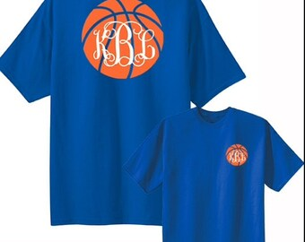 Basketball Monogram Tee