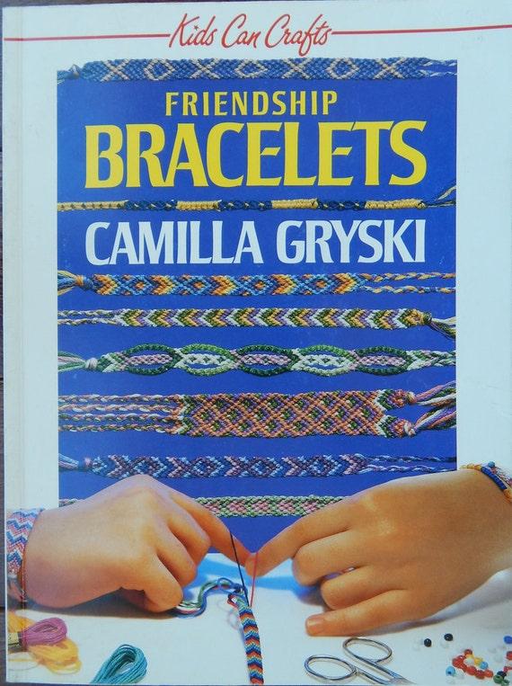 Friendship Bracelets Instructions Patterns Kids Can Crafts Etsy