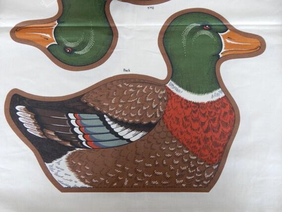 Stockente Ente Stoffbahn / macht 2 nähen und Sachen Enten 15 | Etsy