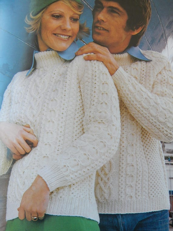 Big Sizes 2 Patons Sweaters Cardigans Knitting Pattern Etsy