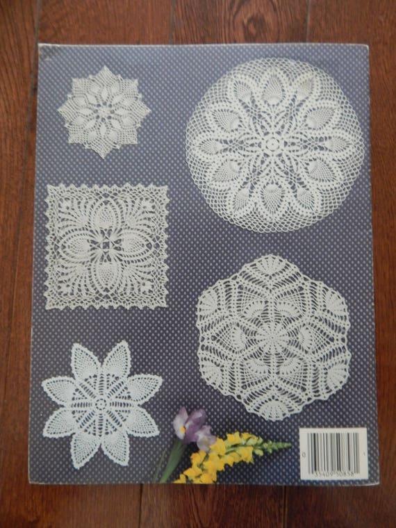 Ananas-Deckchen häkeln Muster / Lieblings Ananas Deckchen von   Etsy
