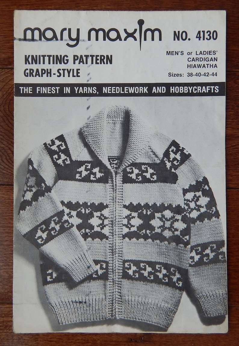 3ec4254be625bc Sweater Knitting Pattern Zipper Front Bulky Cardigan  Mary