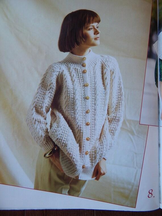 Irresistible Arans Knitting Patterns