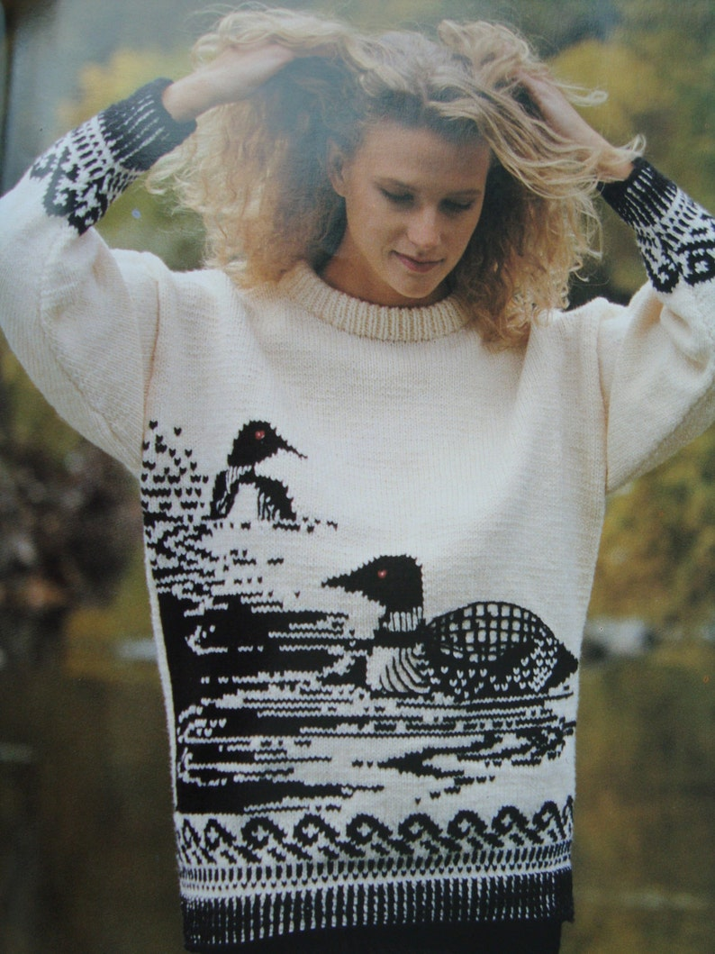 c55959cb8495 Patons O Canada Sweater Knitting Patterns  Pullovers