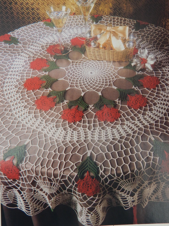 Vintage Crochet Doily Patterns W Diagrams Magic Crochet Etsy