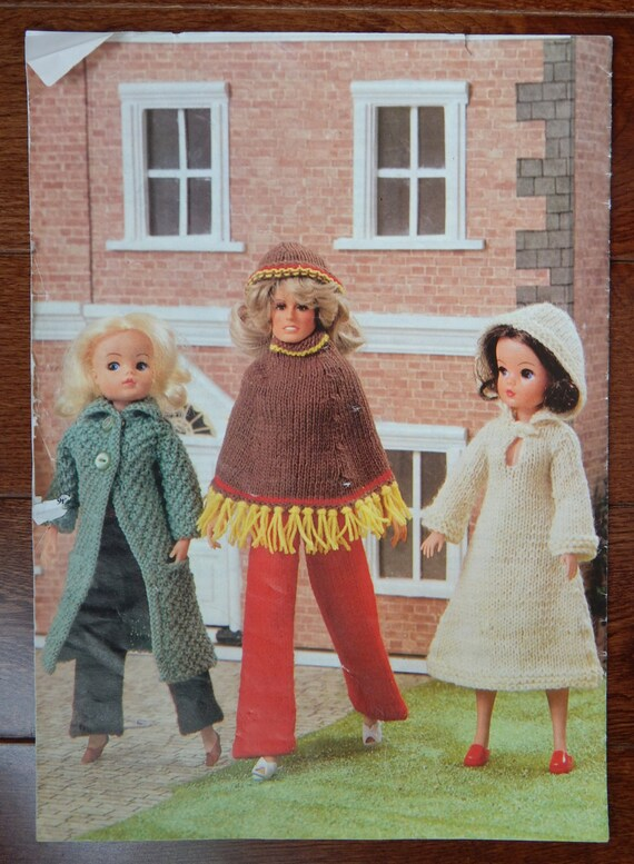 Doll Clothes Knitting Patterns For Fashion Dolls 10 34 12 Etsy
