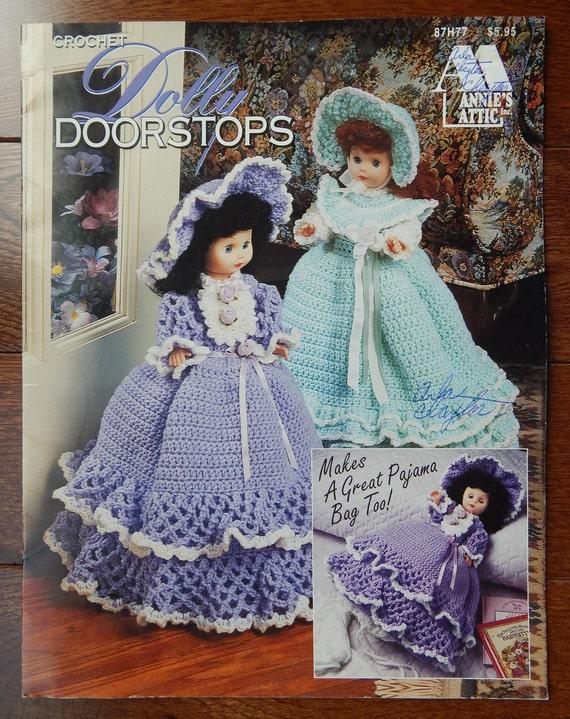 Häkeln Türstopper oder Pyjama Tasche Muster / Vintage Annie   Etsy