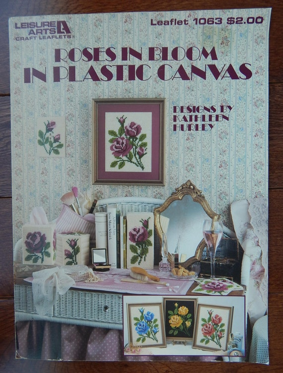 Plastic Canvas More Needlepoint Projects 16 Projects Patterns Designs By Leisure Arts
