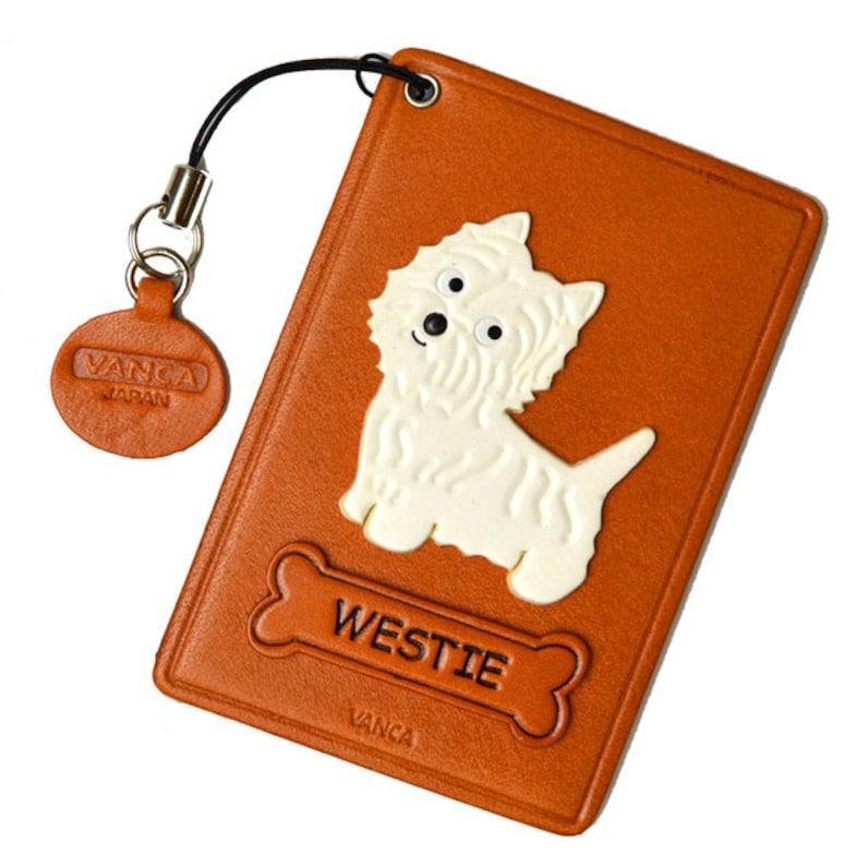 West Highland Terrier Westie Dog Breed Lanyard Reel Badge ID Card Holder
