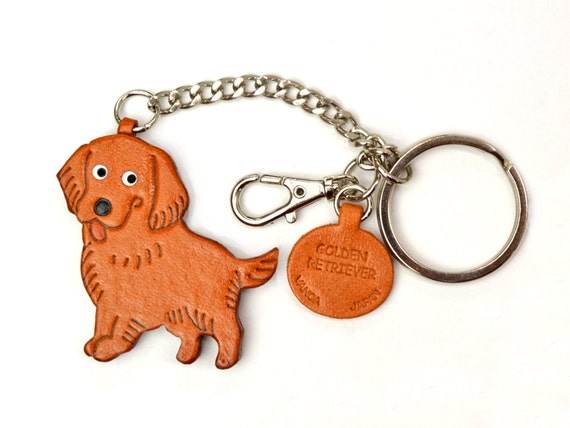 Corgi Handmade 3D Leather Keychain Dog Bag//Ring Charm *VANCA Made in Japan 26075
