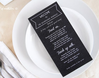 Place Cards / Thank You Note