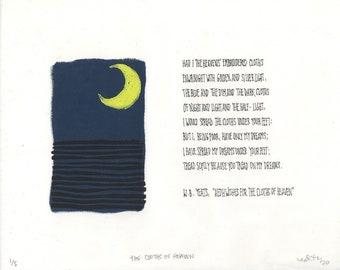 the cloths of heaven (w.b. yeats)