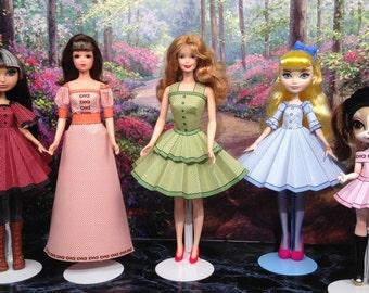 Dorothy Printable Doll Clothes - Fits Barbie, Ever After High, Francie and more!