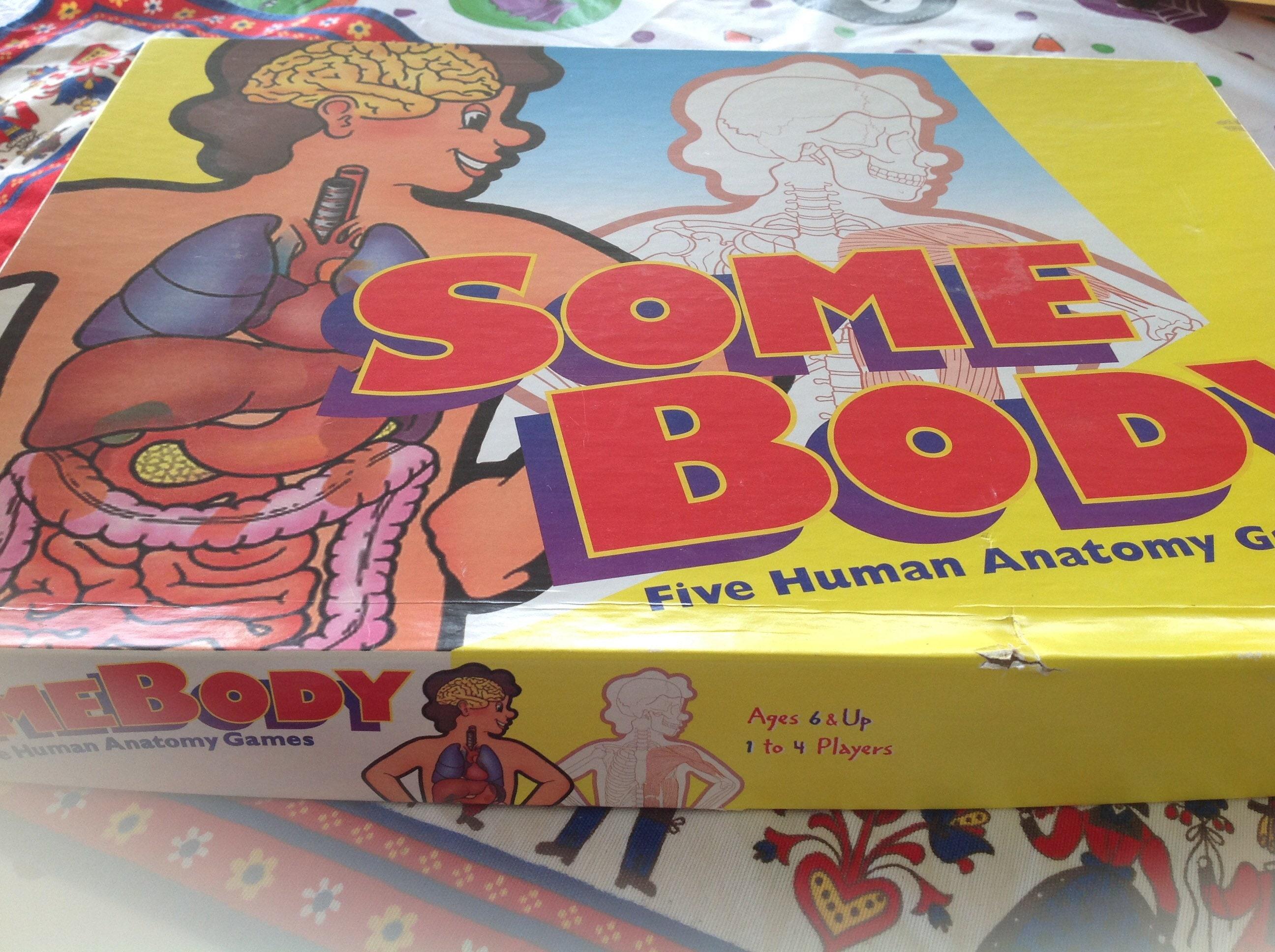 Somebody The Human Anatomy Game Etsy