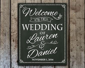 wedding chalkboard sign,  chalkboard welcome sign, printable wedding sign, digital download wedding sign