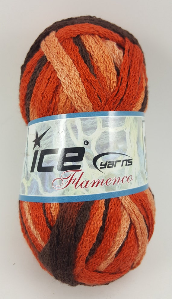 Ice Yarns Fun Fur GSC Tekstil Lot of 6 Black NIP
