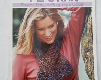 Better Homes And Gardens,1-2-3 Knit Project - Packed Beginner's Guide Book, Paperback - Used