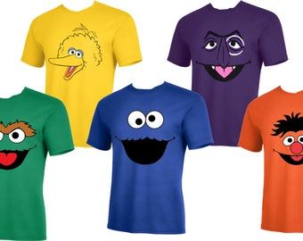 3a443f80 Elmo, cookie , Oscar , The count and more Men size up to 5XL